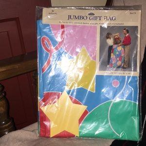 Unopened NIB hallmark vintage jumbo gift bag
